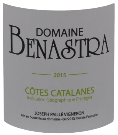 Cotes Catalanes-domaine Benastra-Vinibee