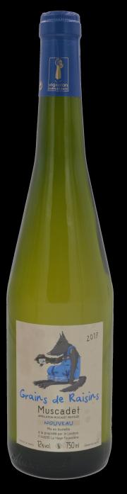 Domaine Jo Landron - Muscadet Nouveau - 2017 - Grains de raisins