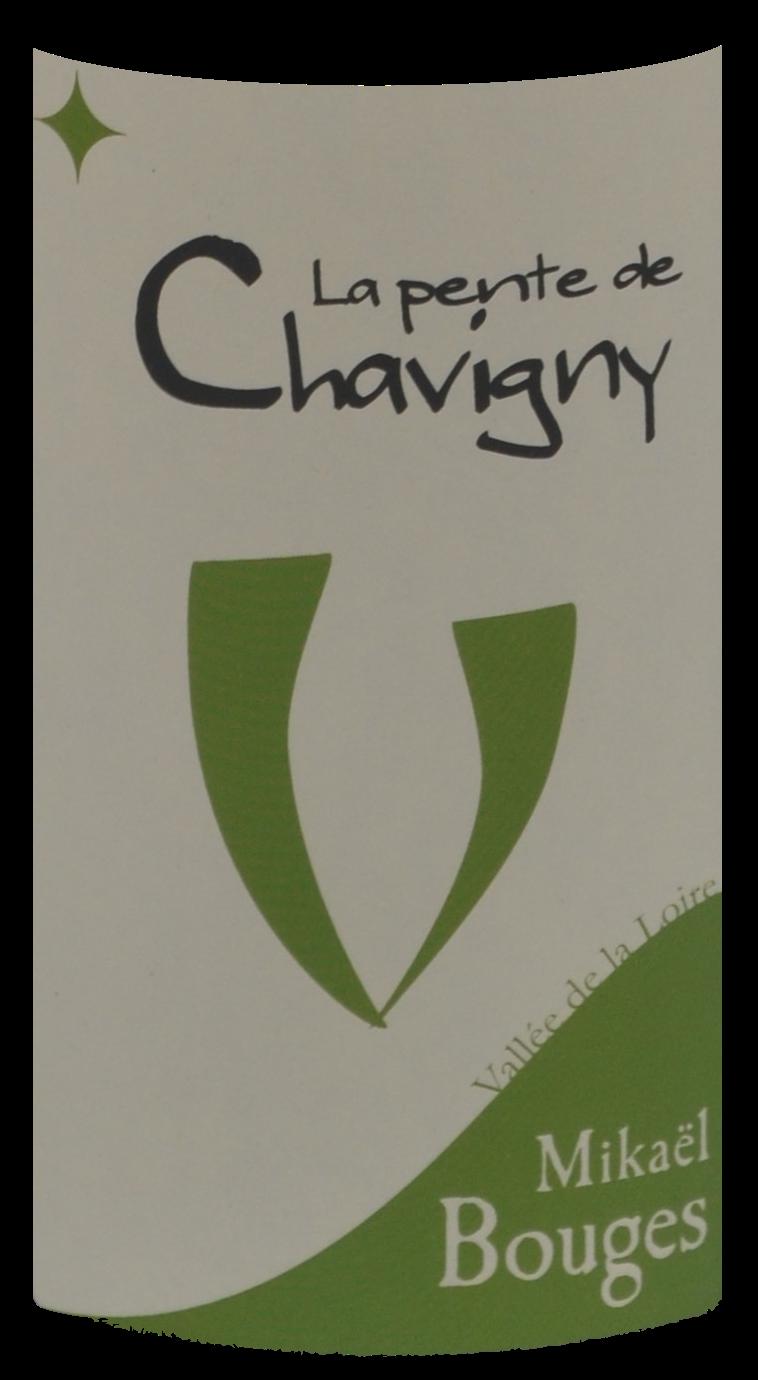 Domaine Mikaël Bouges - La pente de Chavigny - 2016 - étiquette - Vinibee