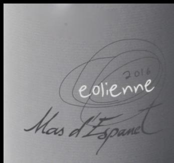 Mas d Espanet - Eolienne - 2016 - étiquette