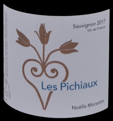 Domaine Noëlla Morantin - Les Pichiaux 2017 - étiquette