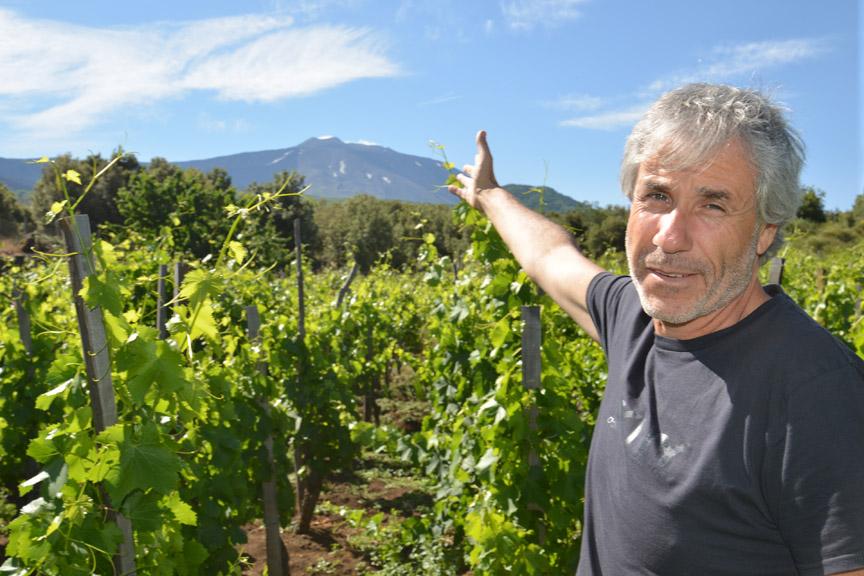 Salvo Foti - Etna - Sicile - vignes