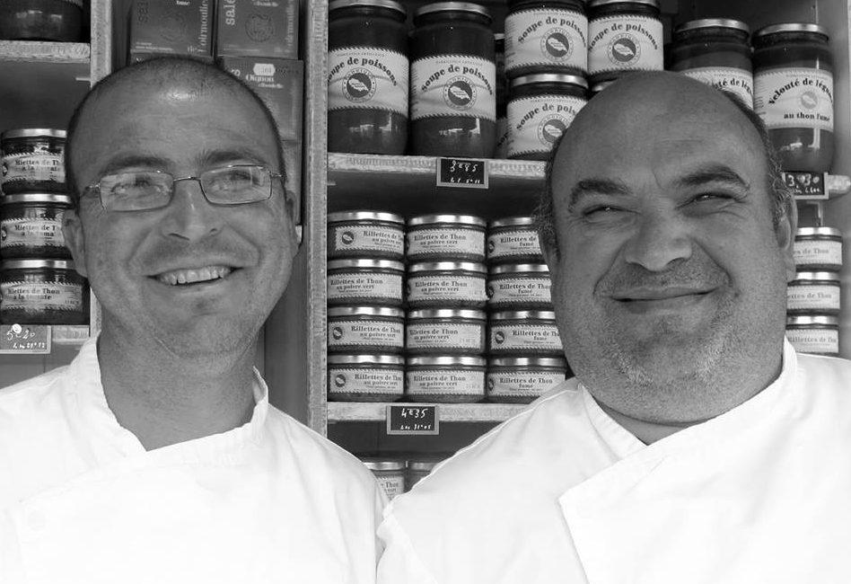 conserverie artisanale Saveurs Islaises - Régis Turbé et Christophe Doucet - Vinibee