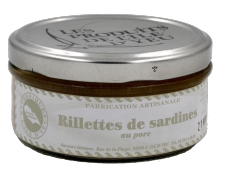 Saveurs Islaises - Rillettes de Sardines
