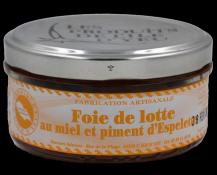 Foie de Lotte au miel et piment d'Espelette - Saveurs Islaises - Vinibee
