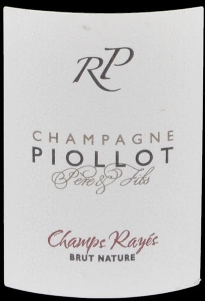 étiquette Champs Rayés - Champagne Piollot
