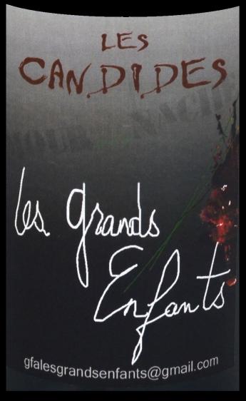 étiquette Les Candides - Domaine Le Cri de l Araignée - Olivier Trombetta