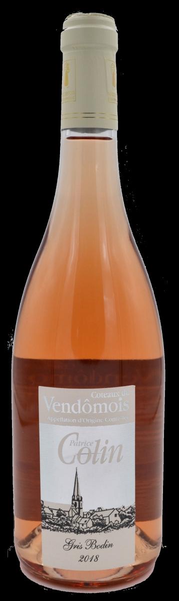 Gris Bodin - Domaine Patrice Colin - Coteaux du Vendômois - vin bio - Vinibee