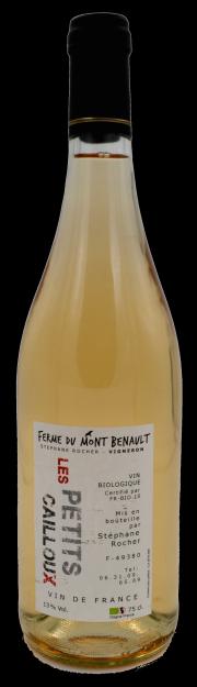 Les Petits Cailloux blanc - Stéphane Rocher - Ferme du Mont Benault - Anjou - vin naturel - Vinibee