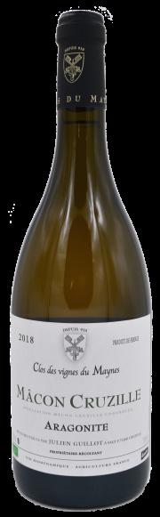 Mâcon Cruzille Aragonite - Julien Guillot - Clos des Vignes du Maynes - vin naturel - Vinibee