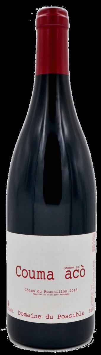 Couma Aco - domaine du possible - Loïc Roure - vin naturel - Jajakistan - vinibee