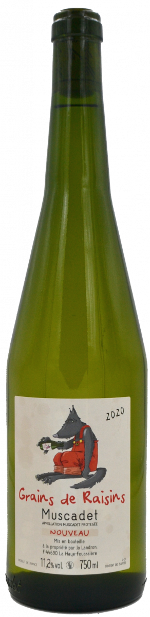 Grains de raisin - Jo Landron - domaine de la louvetrie - vinibee