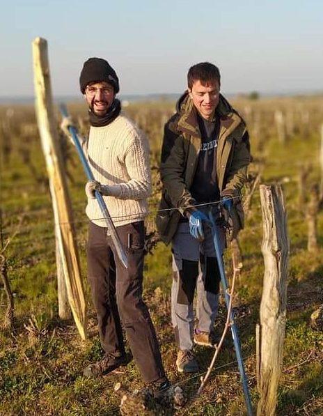 Domaine des Frères - henri et valentin bruneau - vin naturel - chinon - vinibe